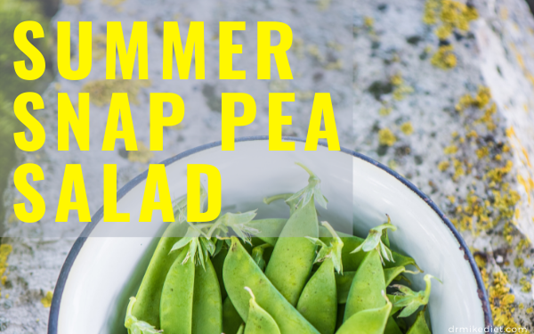 Summer Snap Pea Salad