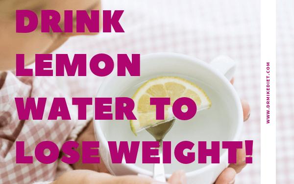 Drinking Hot Lemon Water
